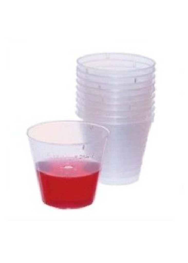 Medicine Cups 1 ounce (30cc)- 100 counts