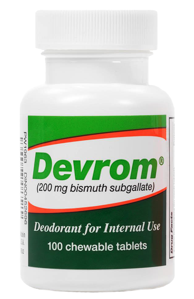Devrom Chewable Tablets Deodorant for Interna use,Remedy for Intestinal gas odor