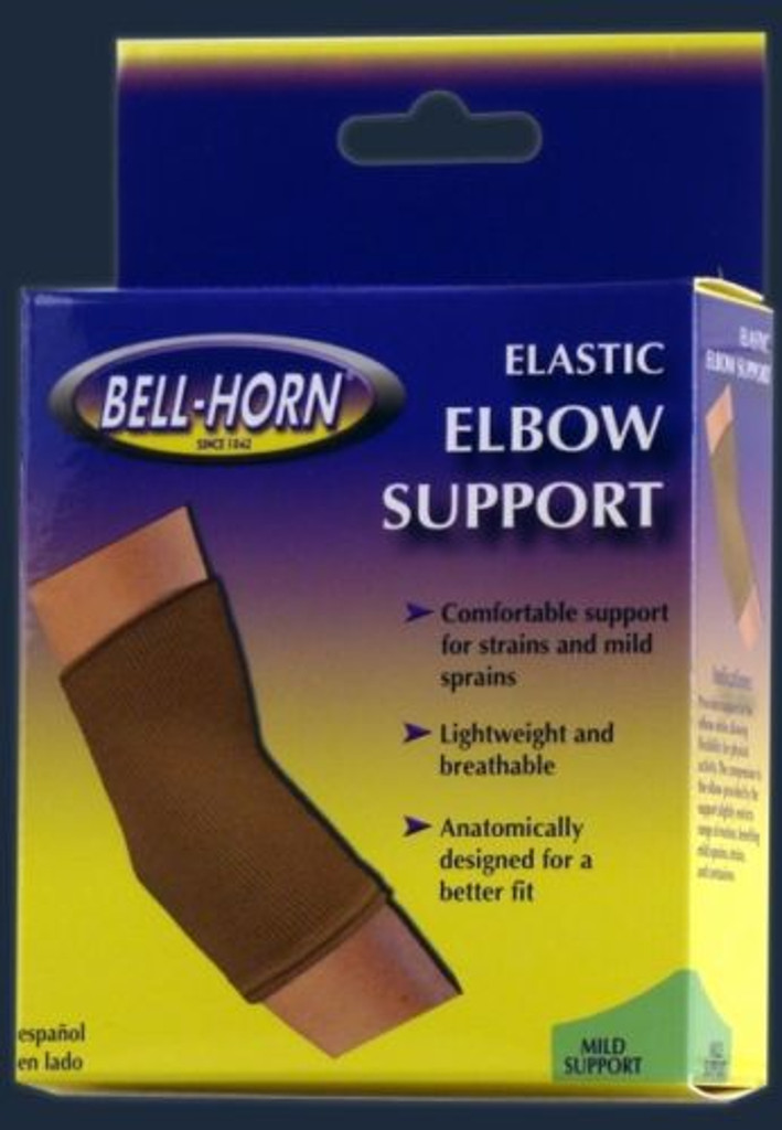 Bell-Horn Elastic Elbow Support Beige Medium 9-10""