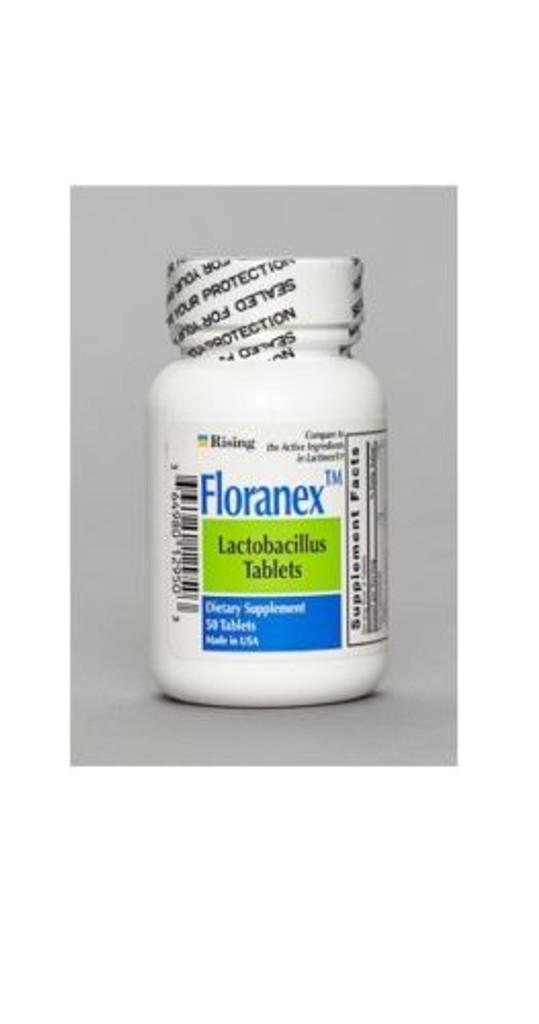 Floranex Lactobacillus Tablets 50 Counts