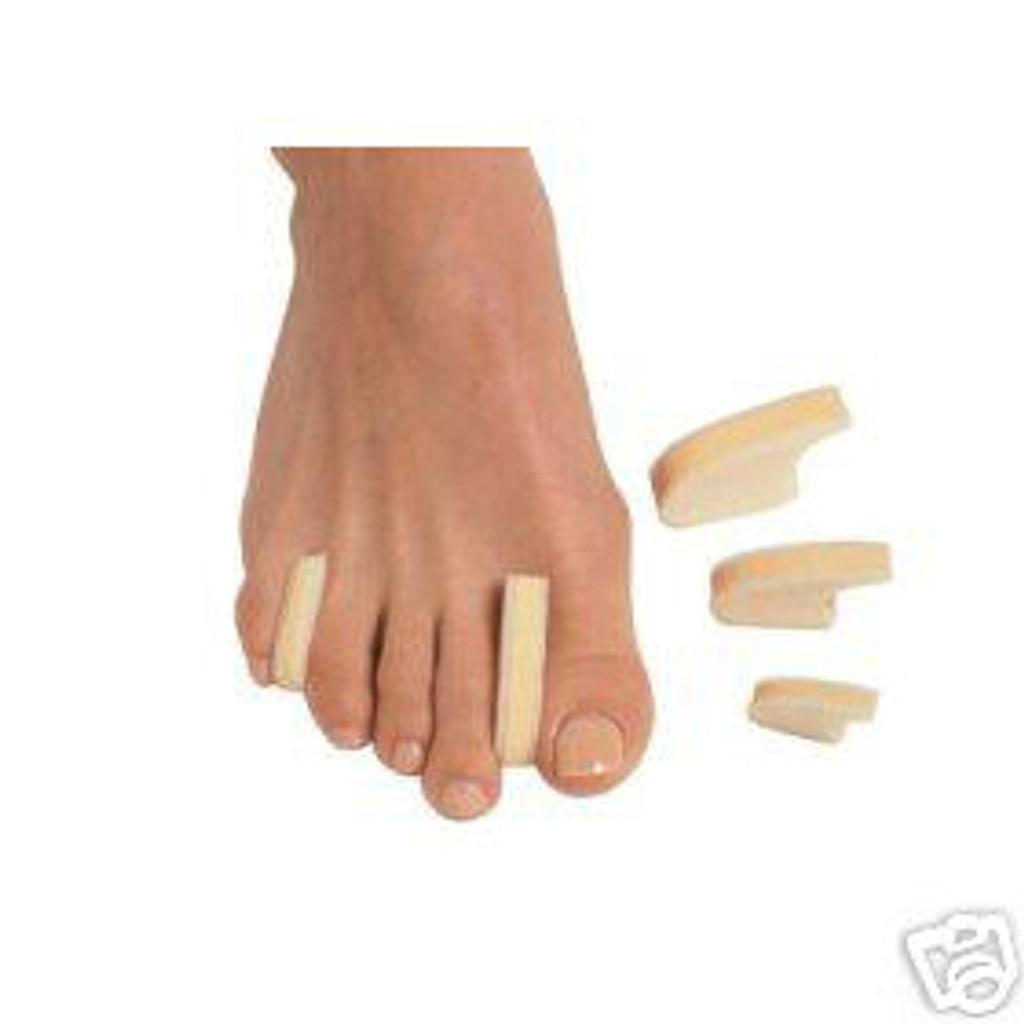 Pedifix 3-Layer Bunions Toe Separators - 6 per pack