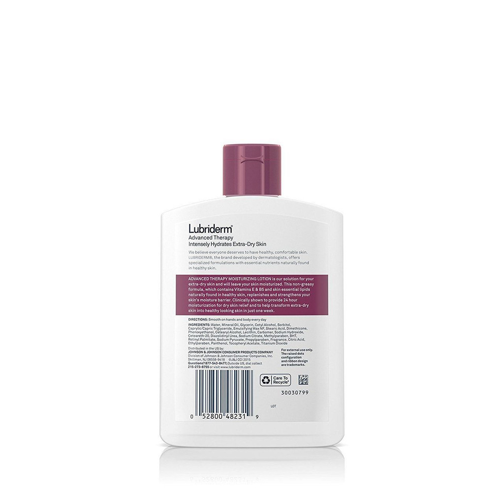 Lubriderm Advanced Therapy Lotion Intensely Hydrates Extra Dry Skin 6 fl. oz
