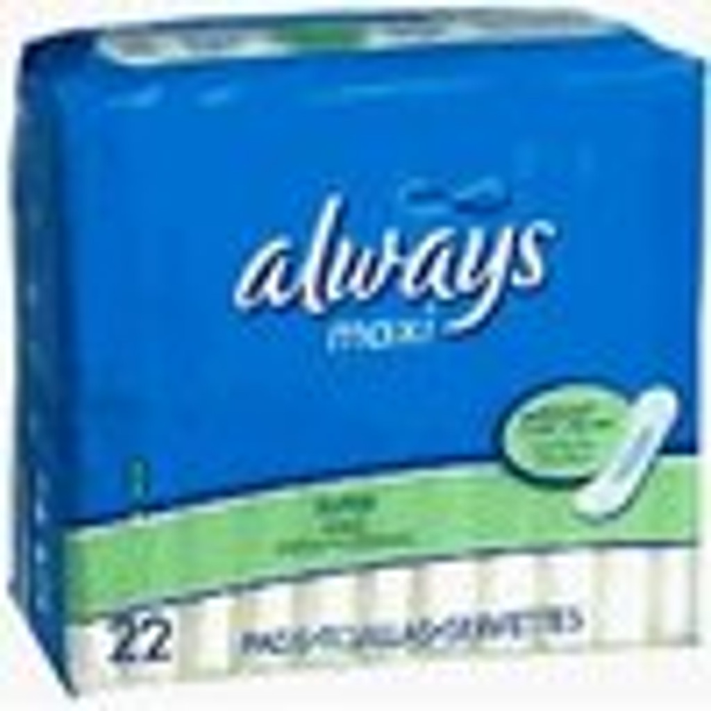 Always Maxi Super Long- 22 Each X 6 Packs