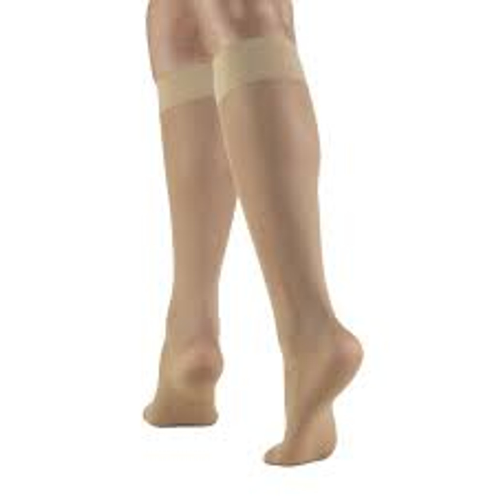TRUFORM 1763 Knee high 8-15 Compression Lites Sheer