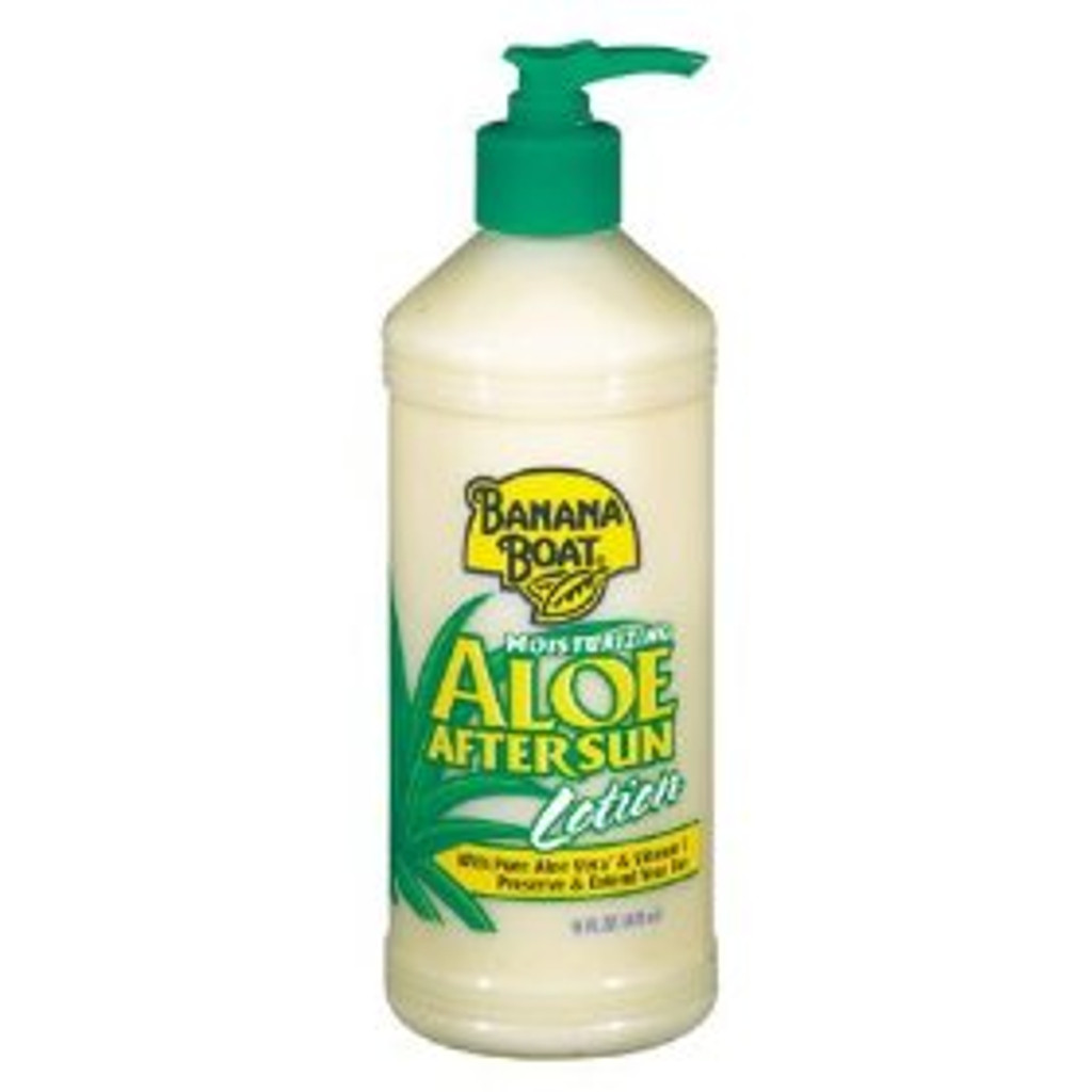 Banana Boat 16oz. Aloe After Sun Lotion Pump