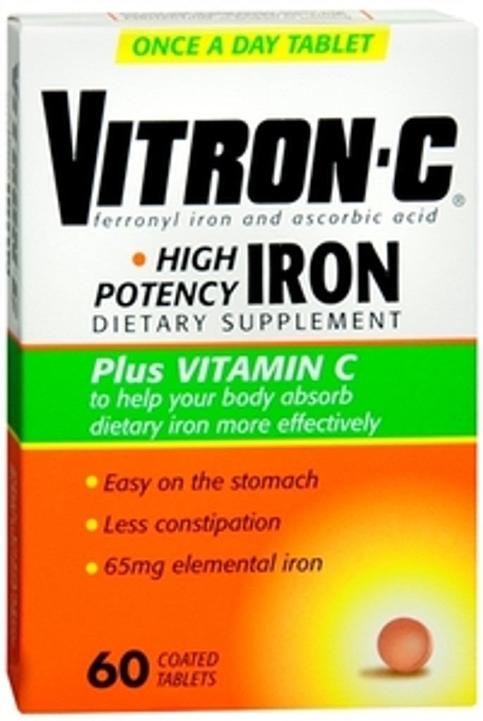Vitron-C with Iron Tablets 60/Box