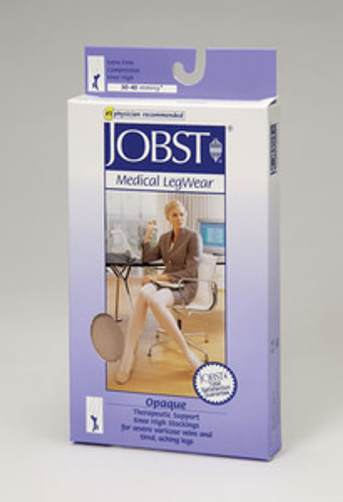 Jobst Opaque Closed Toe Knee Highs PETITE 30-40 mmHg