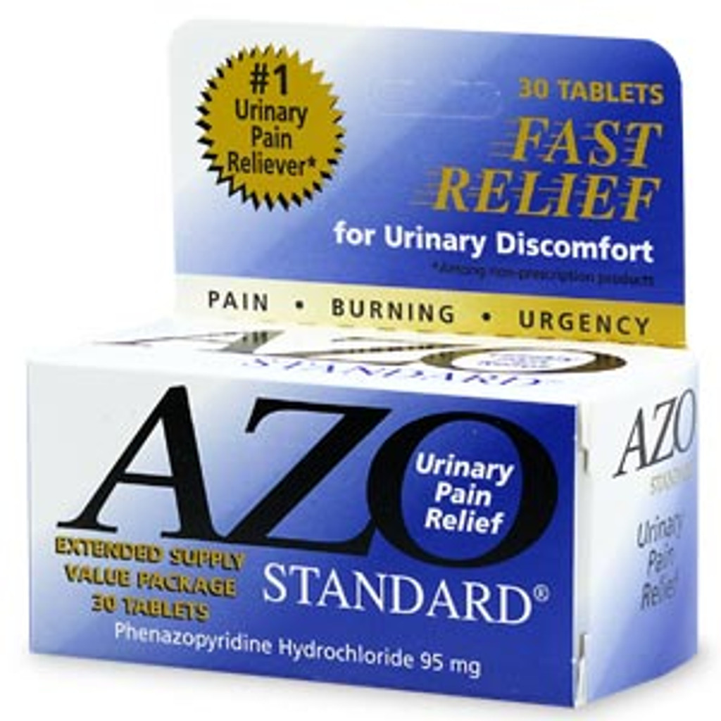 AZO Standard Urinary Pain Relief Tablets  30 ea