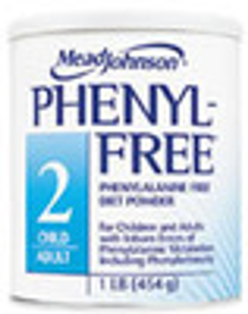 PHENYL-FREE 2 Dietary POWDER For Phenylketonuria: 16 oz - 1 ea