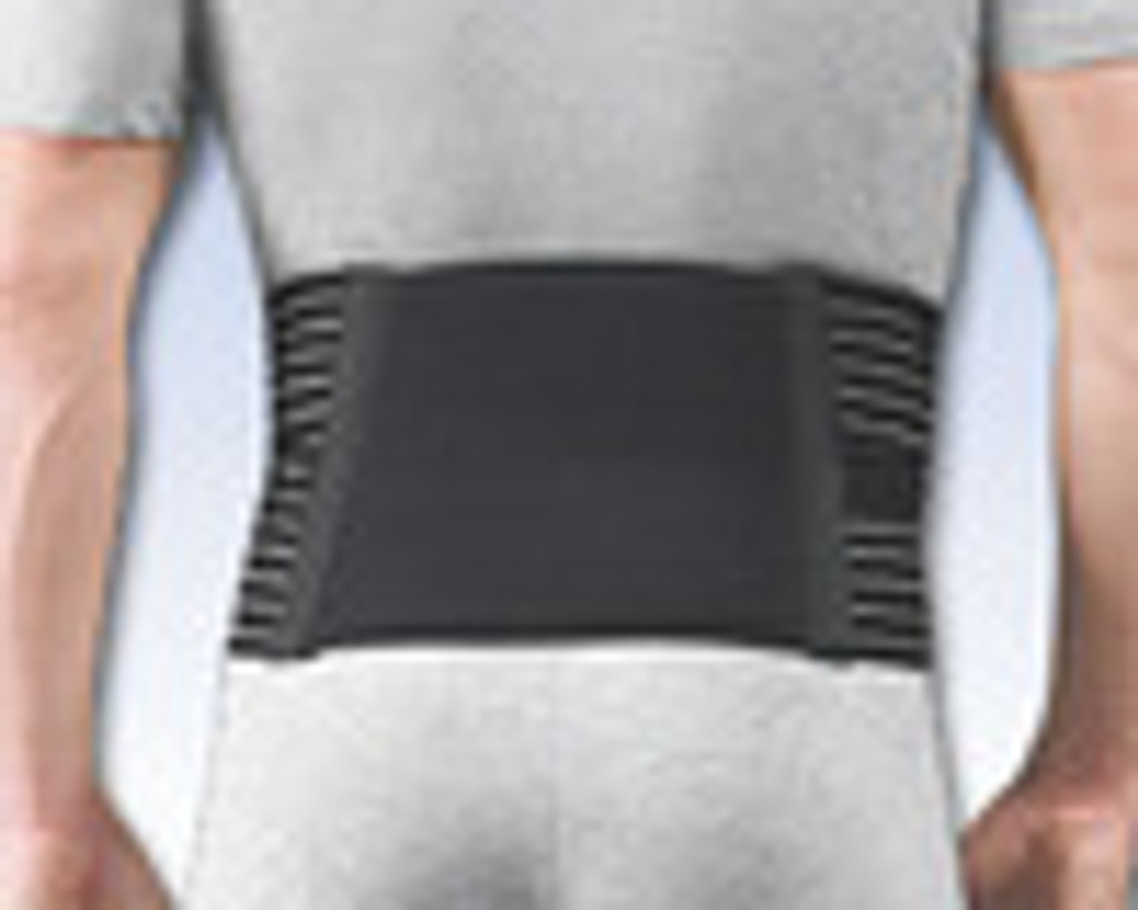 Thermal Lumbar Support with reusable Hot/Cold Pack