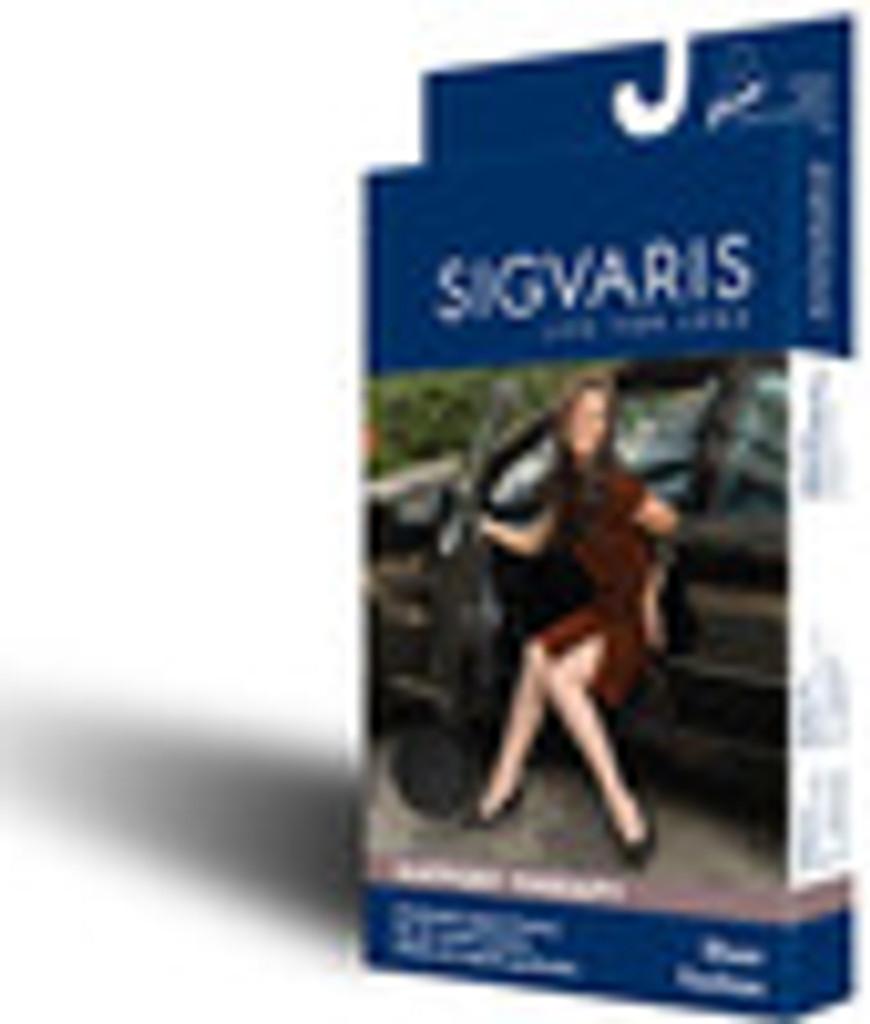 Sigvaris 120C Sheer Fashion 15-20 mmHg Closed Toe Knee Highs