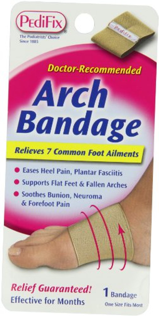 PediFix Arch Bandage - 1 each | Foot Bandage Support