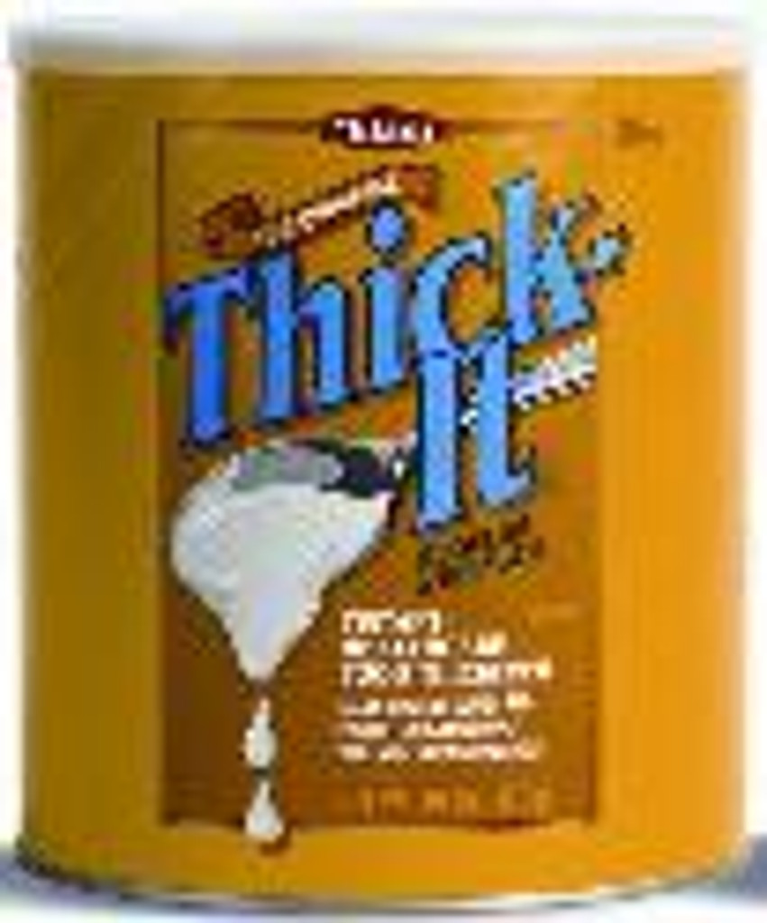 Thick-It food thickener, regular strength, 30oz. Can