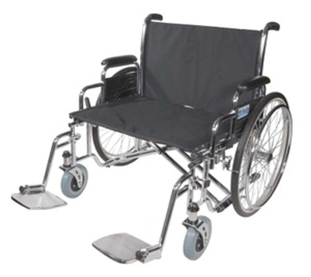 Drive   Sentra Heavy-Duty, Extra Wide Duel Axle Wheelchair