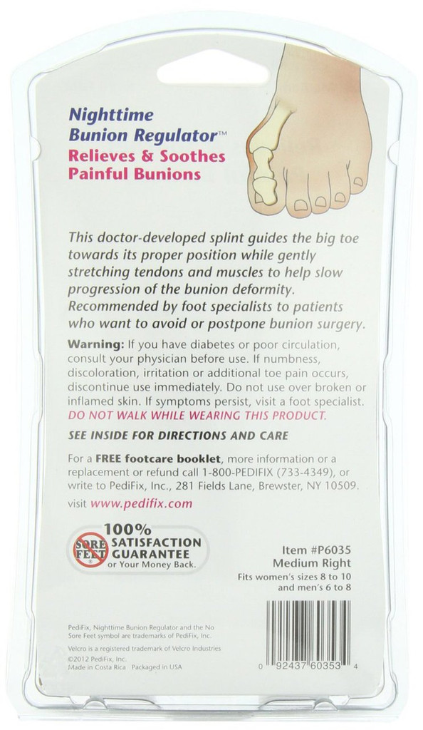 Bunion Regulator Night Splint