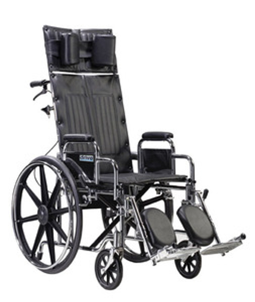 Drive 16'' Deluxe Sentra Full Reclining - Dual Axle