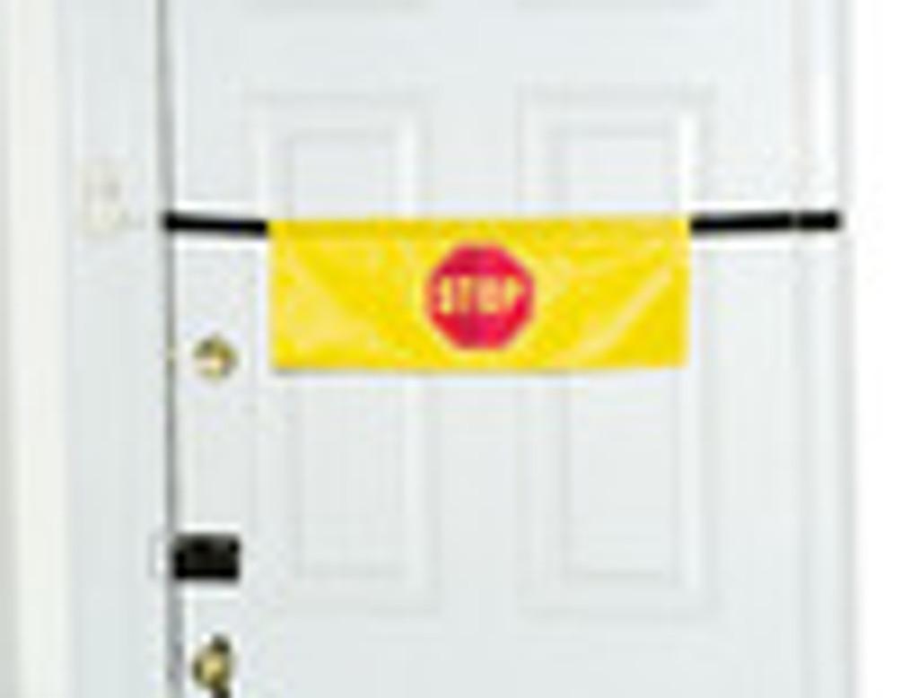 Drive Alarm Door Banner