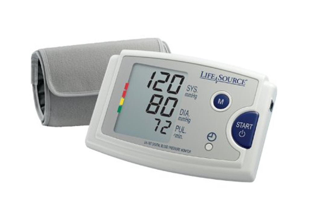 A & D MEDICAL Lifesource Quick Response Blood Pressure Monitor UA-787EJ 1 Each