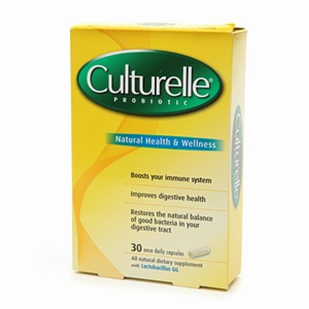Culturelle Probiotic Dietary Supplement Capsules - 30 ea
