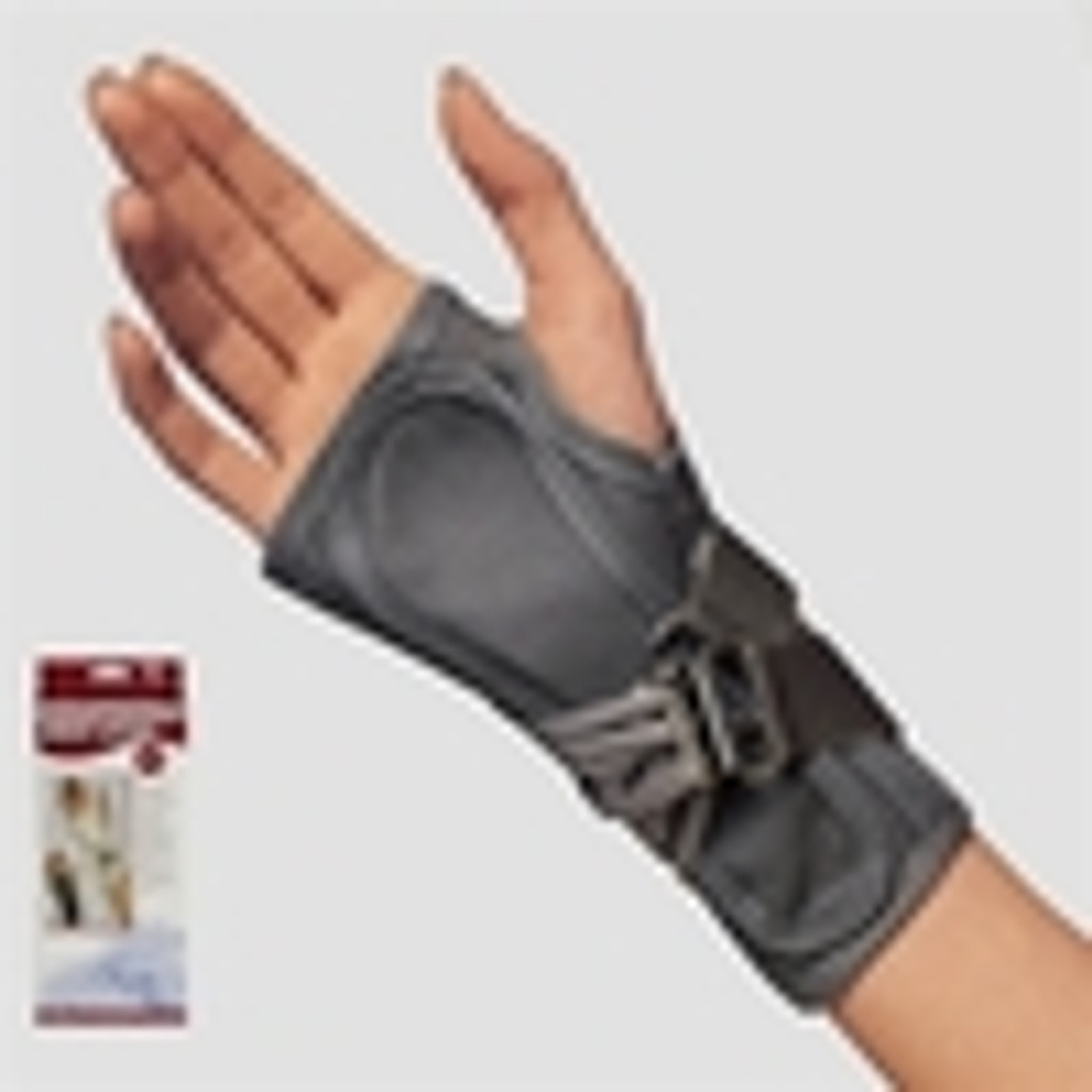 Truform Gray Canvas Cock-up Wrist Splint - Case of 12