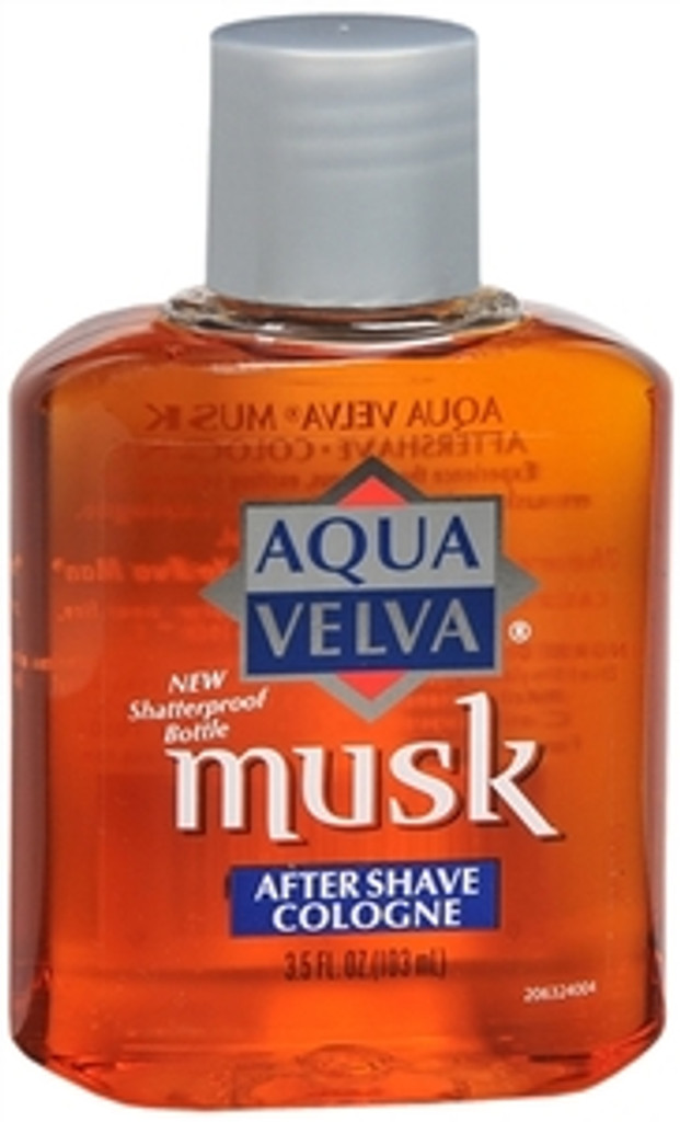 Aqua Velva Musk After Shave 3.5 Oz