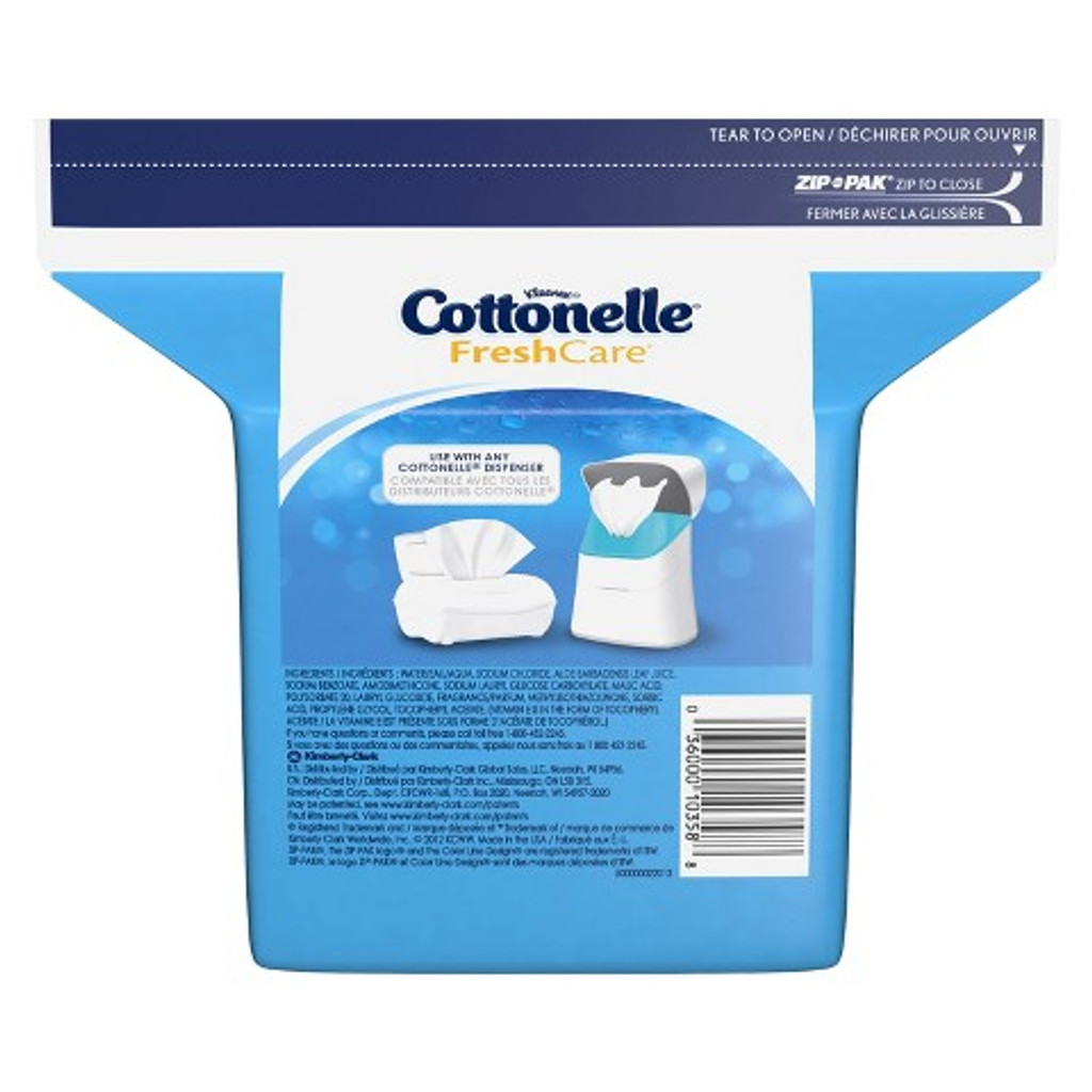 COTTONELLE FLUSHABLE COTH
