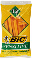 BIC Classic Razor Sensitive Skin 12ct