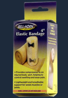 """Bell-Horn 4"""" Elastic Bandage with Clip Lock"""