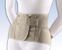 """Soft Form Lumbar Sacral Support, 11"""" with Flexible Stays"""