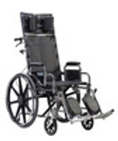 Drive 14'' Deluxe Sentra Full Reclining - Dual Axle
