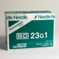 BD Needle Only 23 Gauge 1 inch