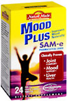 Nature Made MoodPlus SAM-e 200 mg Tablets 24ct