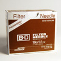 BD 19 G x 1 1/2 in. BD Nokor filter needle with 5 micron thin wall (305200)