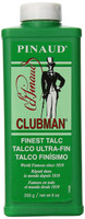 Clubman After Shave Talc, white, 9 Ounce