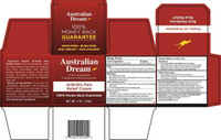 Australian Dream Arthritis ingredients