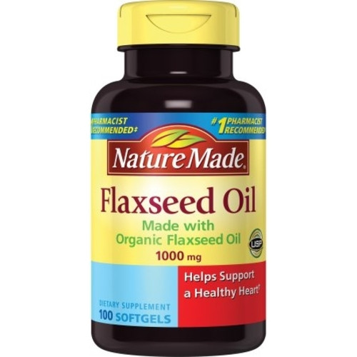 Nature Made Flaxseed Oil  Softgels