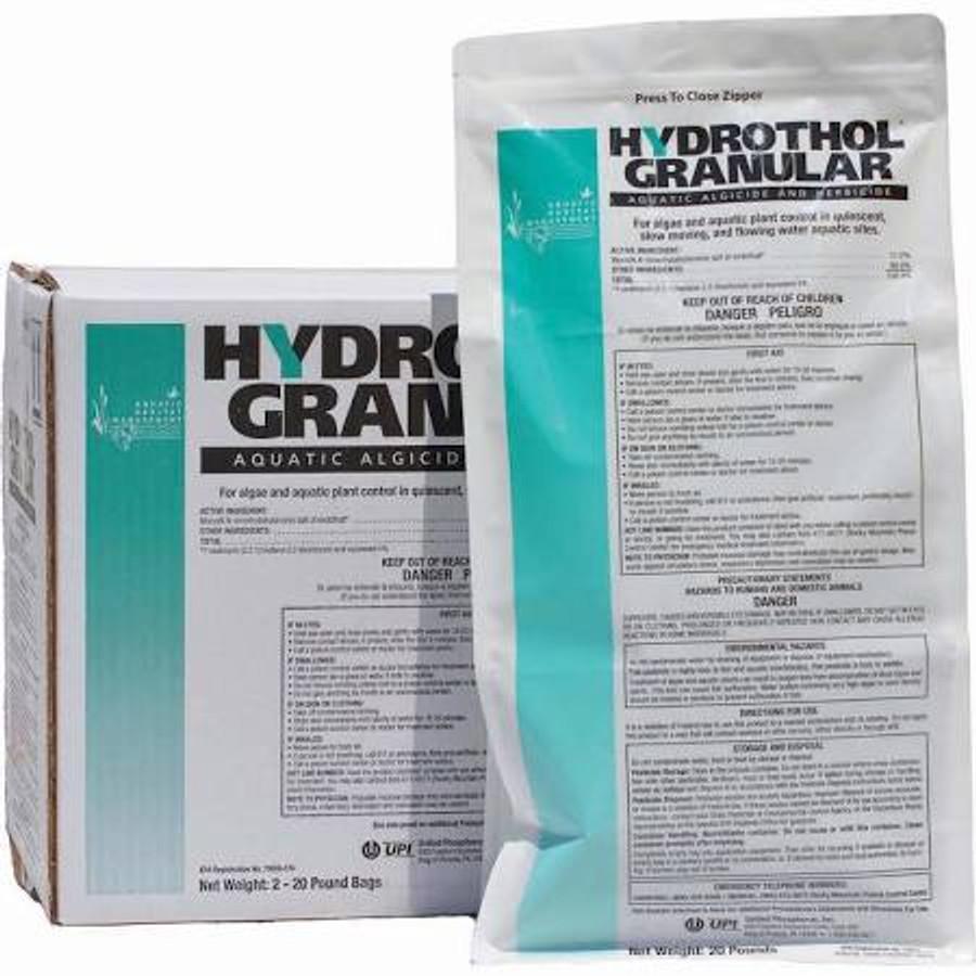 Hydrothol Granular - Aquatic Algaecide & Herbicide (20# Bag)