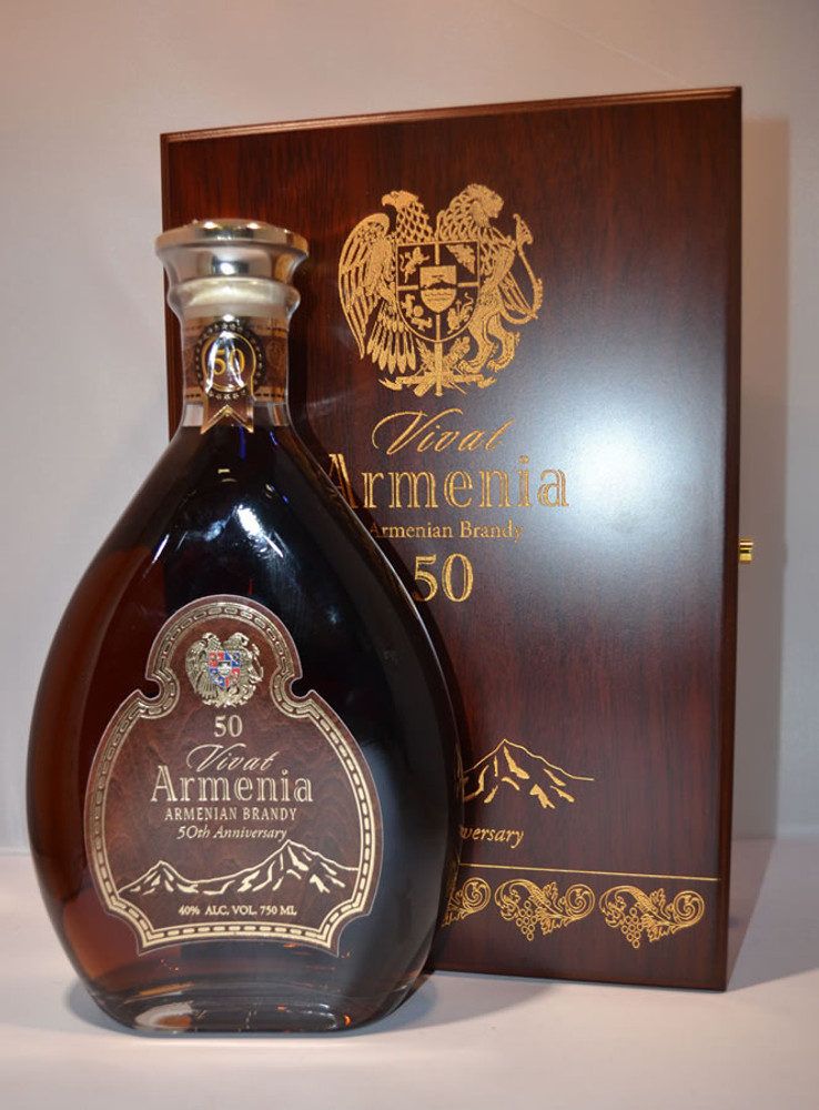 Vivat Armenia 50th Anniversary Brandy