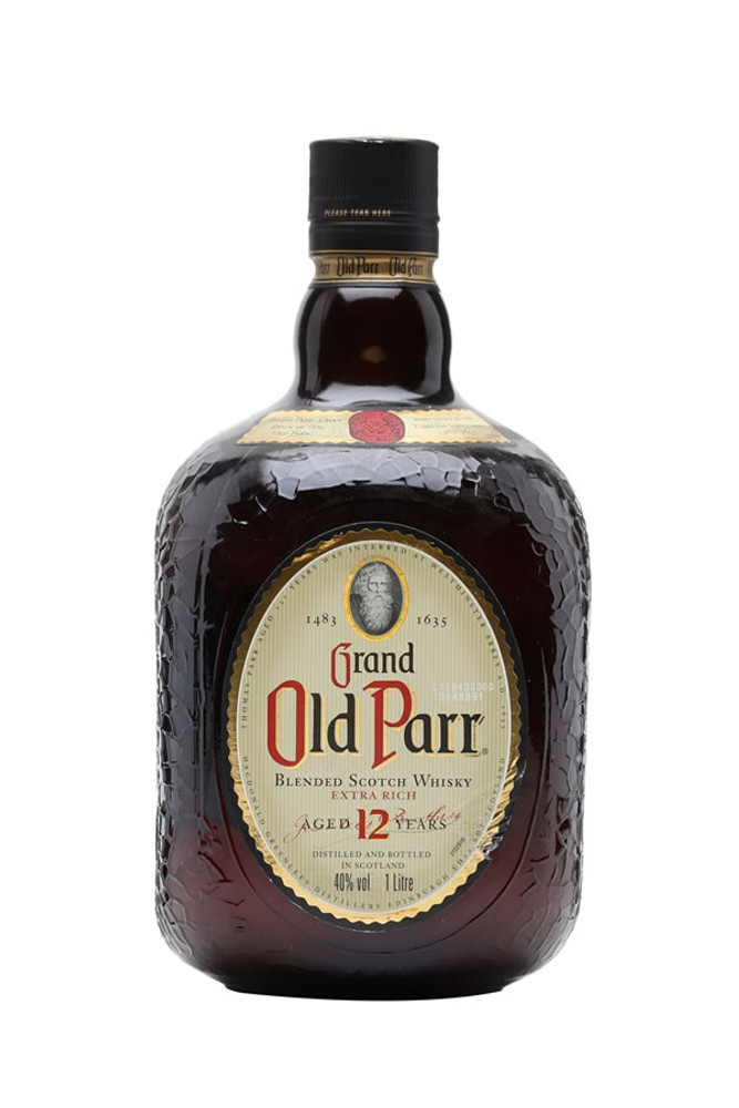 Old Parr 12 Year Scotch