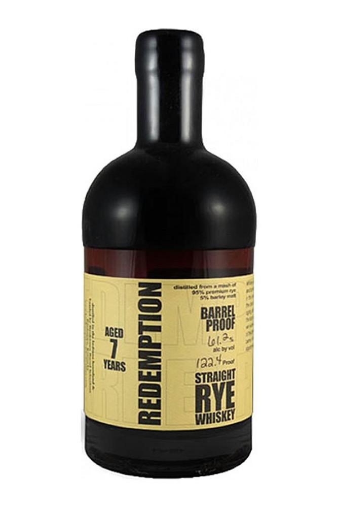Redemption Rye 7 Year Barrel Proof
