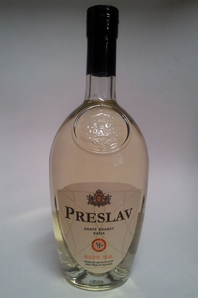 Preslav Grape Brandy Rakia