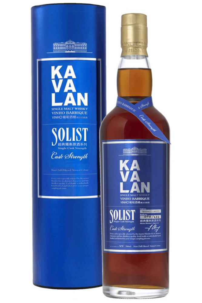 Kavalan Solist Vinho Barrique Cask Strength