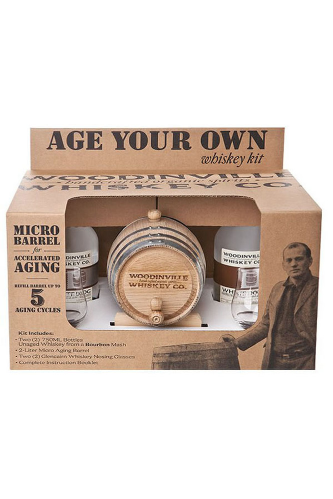 Woodinville™ Age Your Own™ Whiskey Kit