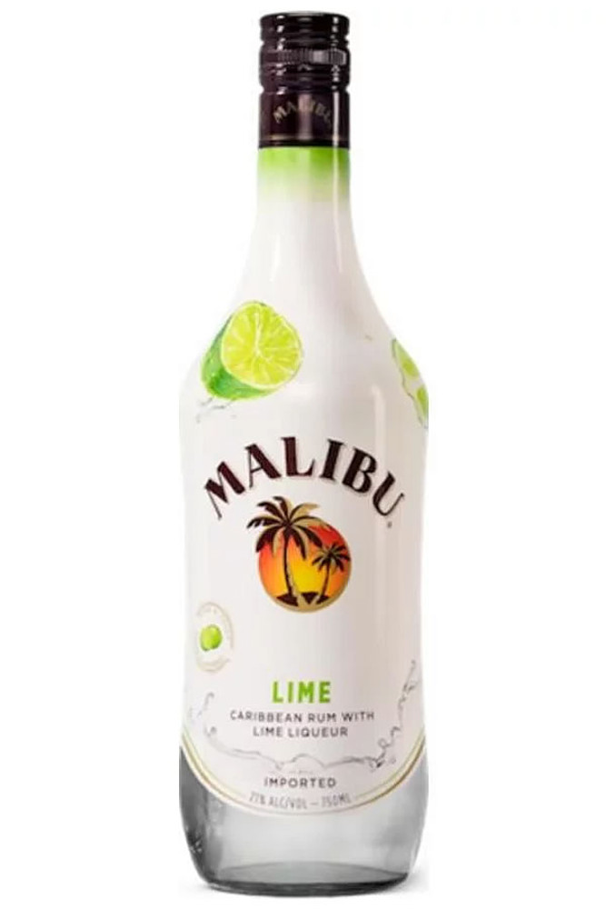 Malibu Lime Caribbean Rum With Lime Liqueur