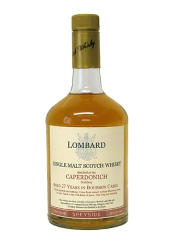 Lombard Caperdonich 27 Years Old