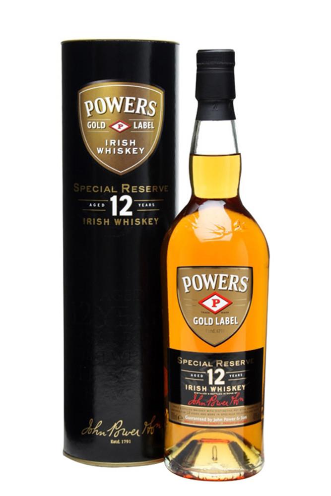 Powers Special Reserve 12 Year Irish Whiskey