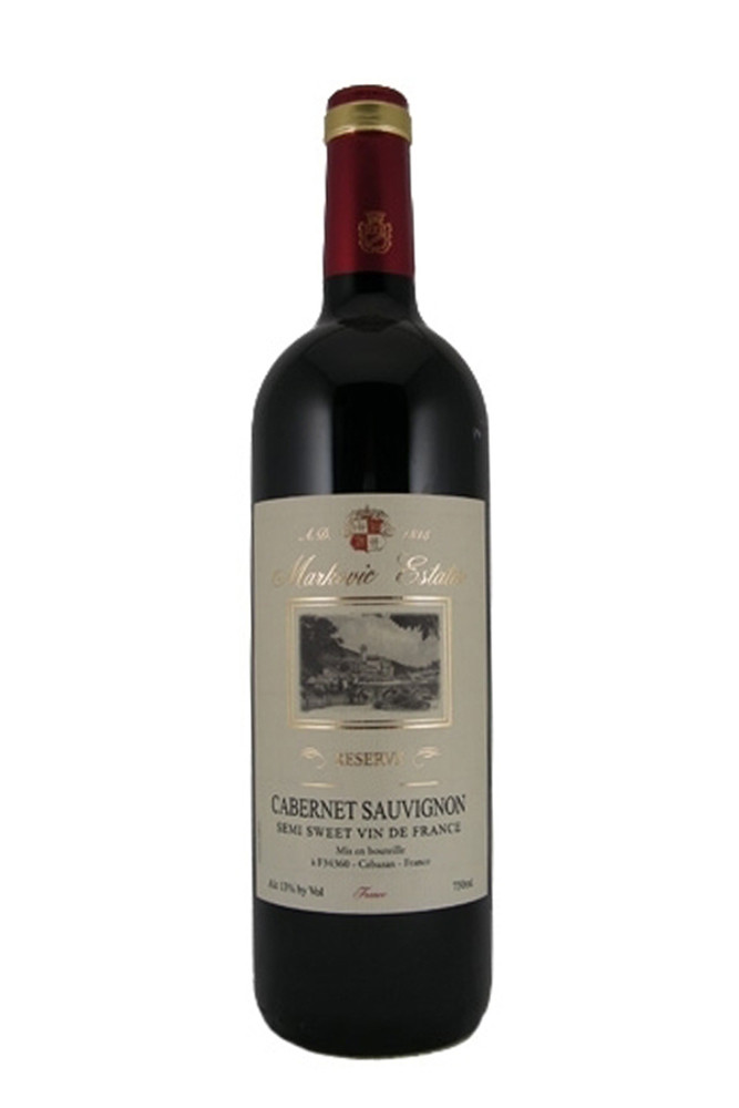 Markovic Estates Cabernet Sauvignon Semi Sweet