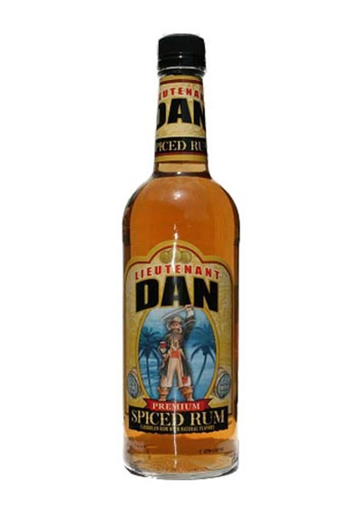 Lieutenant Dan Spiced Rum 750