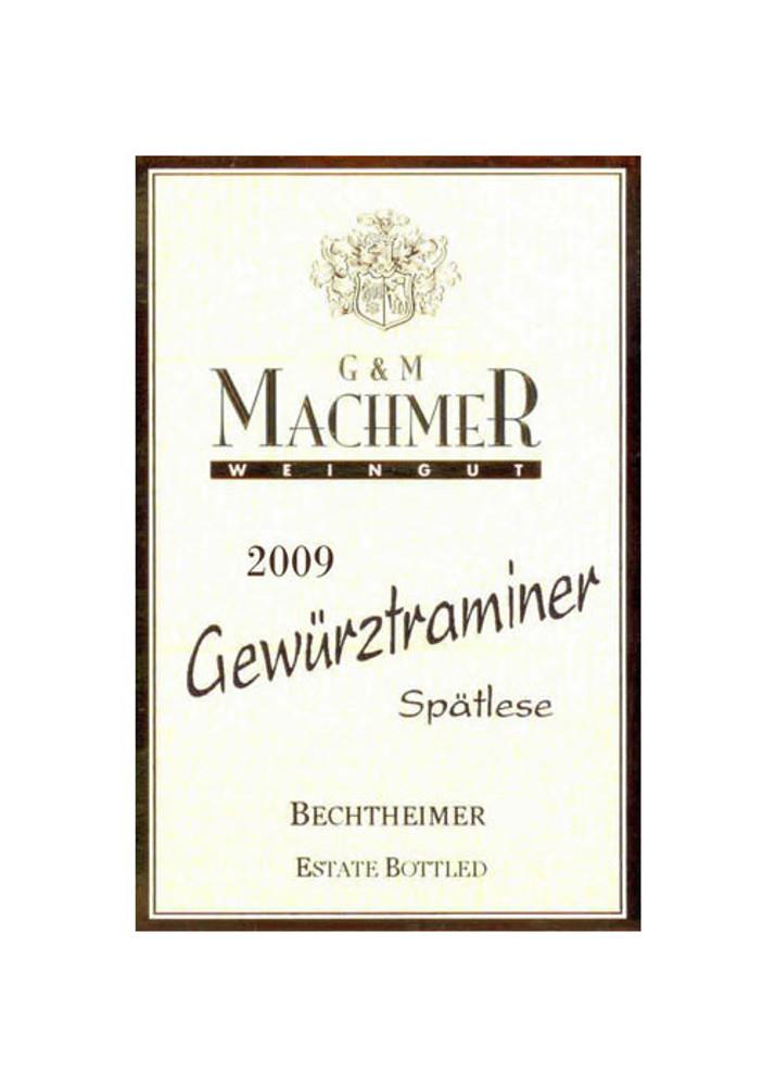 G&M Machmer Gewurtztraminer Spatlese