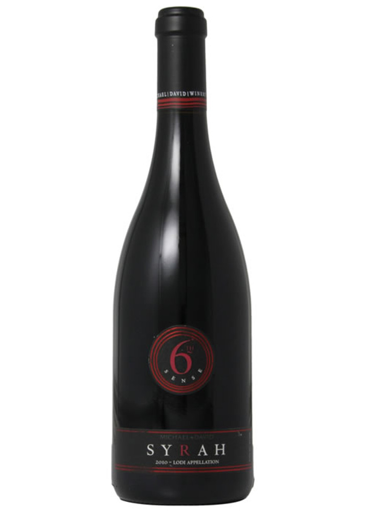 6th Sense Syrah by Michael David